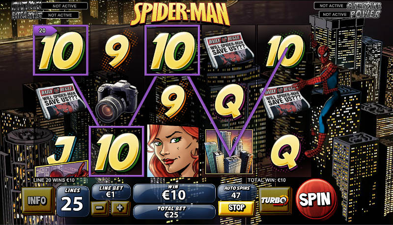spiderman-attack-of-green-goblin-slot-screenshot