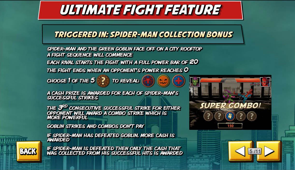 spiderman-attack-of-green-goblin-slot-ultimate-fight