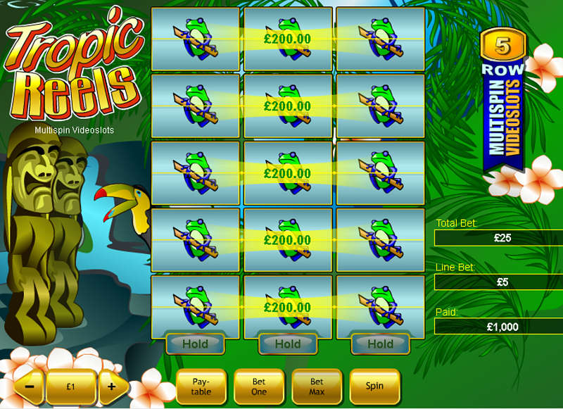 Tropic Reels screenshot