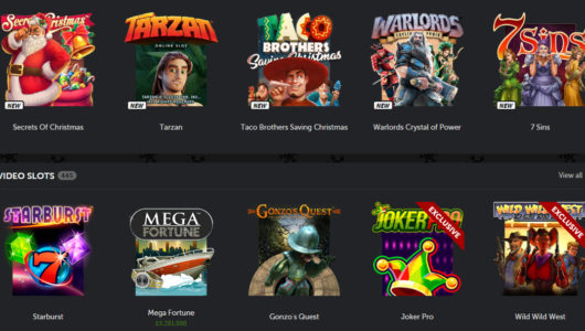 Bettson Mobile Casino Games